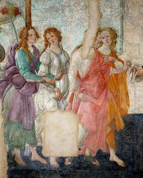 Fine Art Print Venus and the Graces