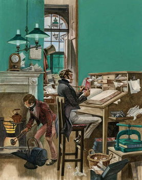 Fine Art Print Victorian office