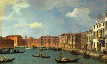 Fine Art Print  View of the Canal of Santa Chiara, Venice