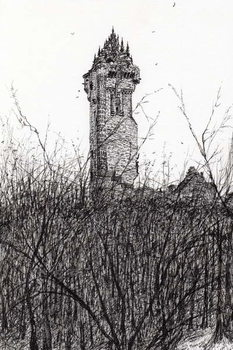 Fine Art Print Wallace monument, 2007,