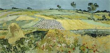 Fine Art Print Wheatfields near Auvers-sur-Oise, 1890
