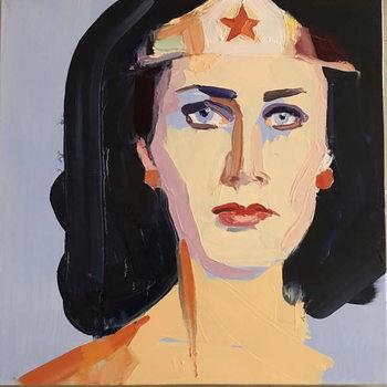 Fine Art Print Wonder woman, 2016,