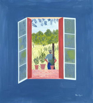 Fine Art Print Zaid Through the Window, 1986
