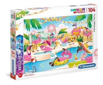 Palapeli Flamingos Party