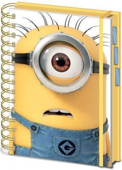 Minions (Moi, moche et méchant) - Shocked Minion A5 Fournitures de Bureau