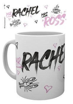 Caneca Friends - Mr Rachel Mrs Ross