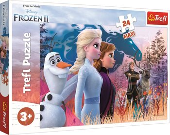 Palapeli Frozen: huurteinen seikkailu 2