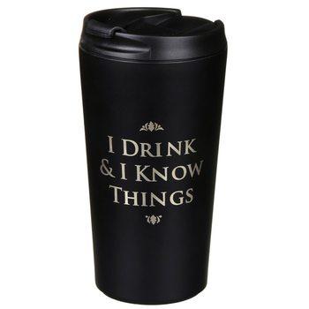 Travel Mug Game Of Thrones - I Drink