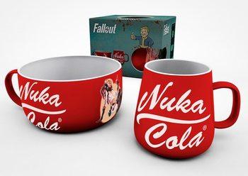 Conjunto de Presentes  Conjunto de Pequeno-Almoço Fallout - Nuka Cola