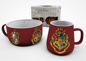 Conjunto de Presentes  Conjunto de Pequeno-Almoço Harry Potter - Crests