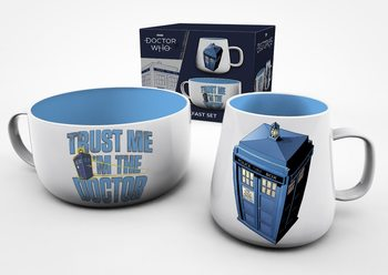 Conjunto de Presentes  Doctor Who - Tardis