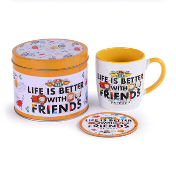 Gift set Friends - Life Is Better Chibi