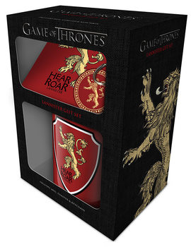 Conjunto de Presentes  Game of Thrones - Lannister