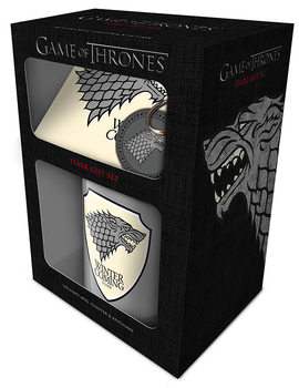 Conjunto de Presentes  Game of Thrones - Stark