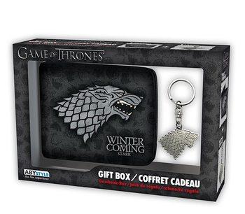 Conjunto de Presentes  Game Of Thrones - Stark