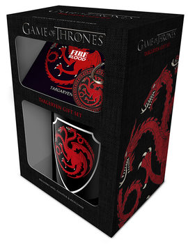 Conjunto de Presentes  Game of Thrones - Targaryen
