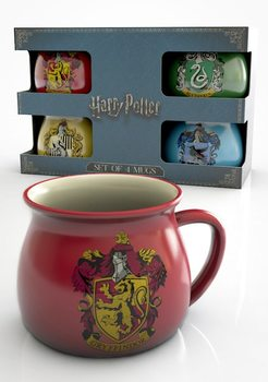 Conjunto de Presentes  Harry Potter - House Crests