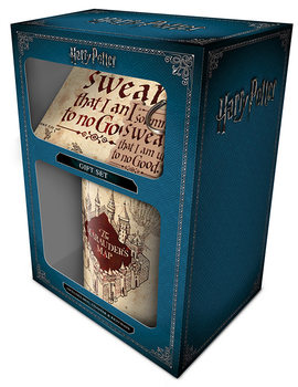 Conjunto de Presentes  Harry Potter - Marauders Map
