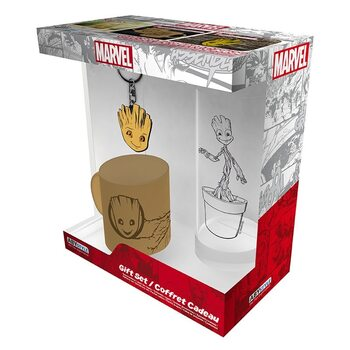 Conjunto de Presentes Marvel - Groot