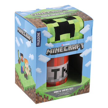Gift set Minecraft - Creeper and TNT
