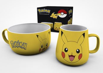Conjunto de Presentes  Pokemon - Pikachu