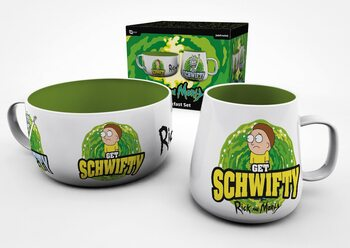 Gift set Rick and Morty - Get Schwifty