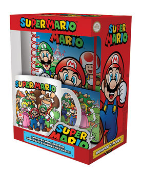 Conjunto de Presentes Super Mario - Evergreen