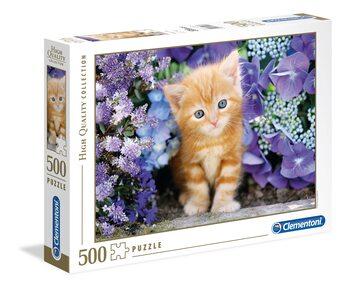 Puzzle Ginger Cat