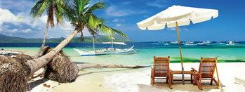 Glass Art Dream - Relax on the Beach