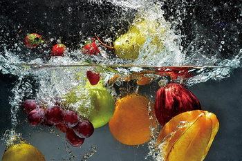 Glass Art Fresh Fruit