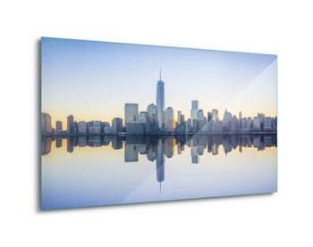 Glass Art Manhattan Mirror