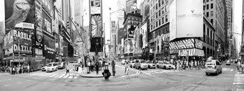 Glass Art New York - Times Square Rush