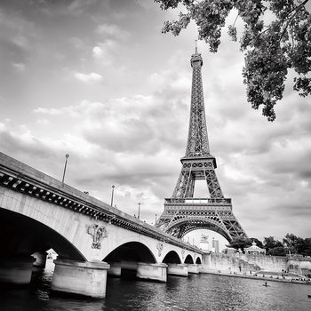 Glass Art Paris - Eiffel Tower