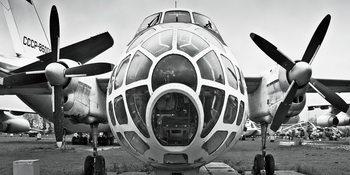 Glass Art  Plane - Cockpit