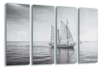 Glass Art Sail Away
