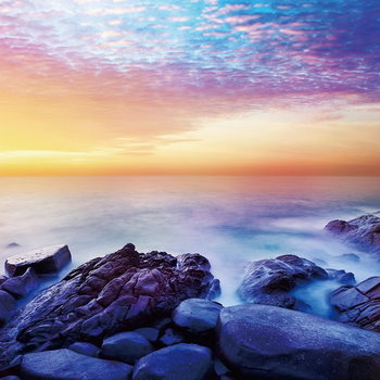 Glass Art Sea - Sunny Bay