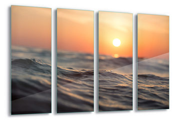 Glass Art Sunset Surf