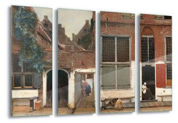 Glass Art  The Little Street, Vermeer