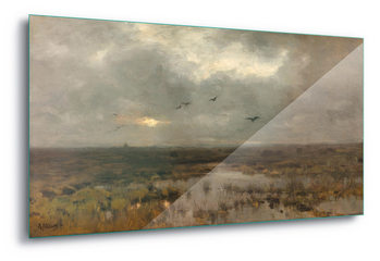 Glass Art  The Marsh, Anton Mauve