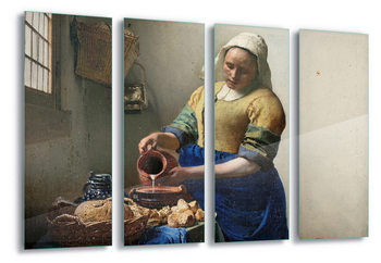 Glass Art  The Milkmaid, Vermeer
