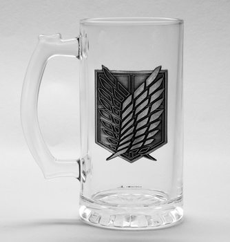 Attack on Titan (Shingeki no kyojin) - Scout Symbol Glass