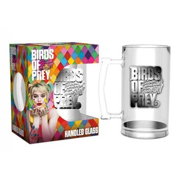 Birds of Prey: And the Fantabulous Emancipation of One Harley Quinn - Logo Glass
