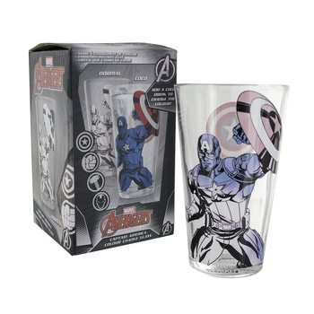 Captain America - Captain America Colour Change Glass