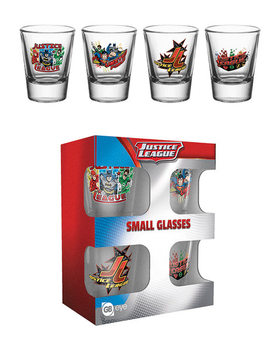 DC Comics - Justice League Characters Glass