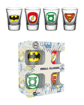 DC Comics - Logos Glass