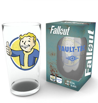Fallout - Vault Boy Glass