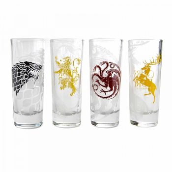 Game Of Thrones - All Houses Glass