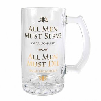 Game Of Thrones - All Men Glass