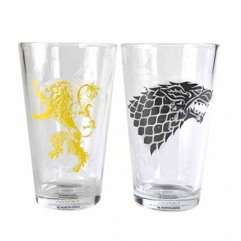 Game Of Thrones - Stark And Lan Glass
