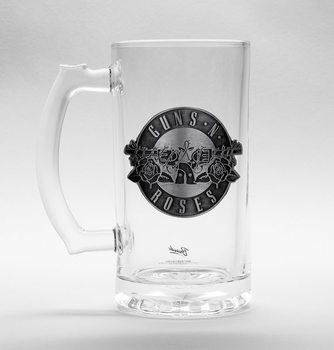 Guns N Roses - Logo Glass